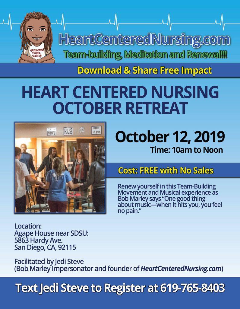 Heart Centered Nursing October 2019 Retreat