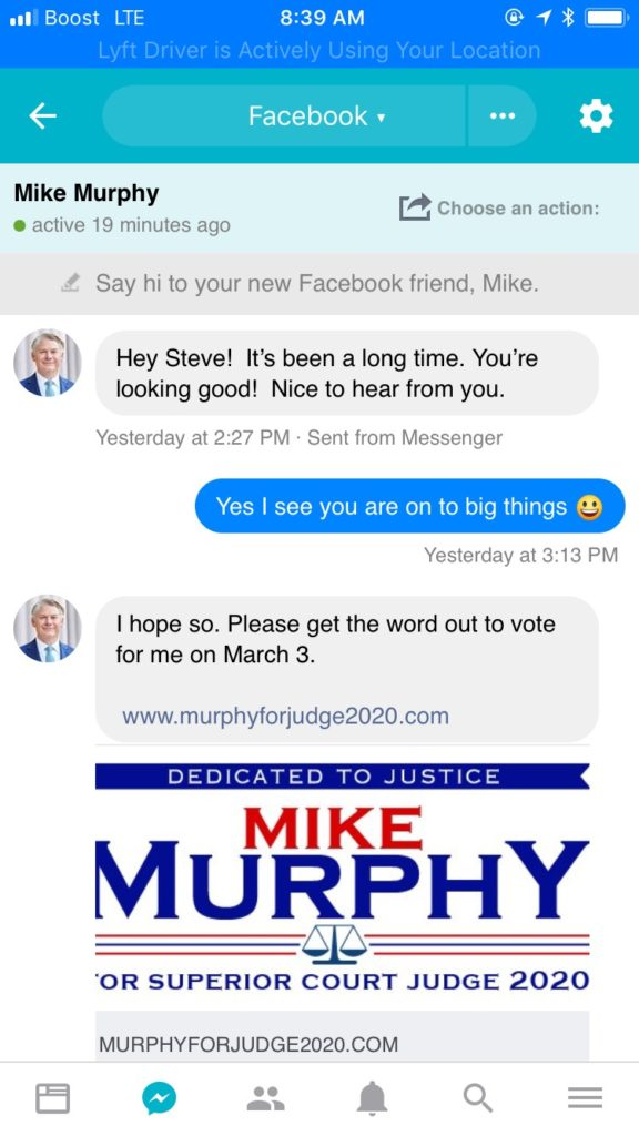 Mike Murphy for Superior Court Judge 2020 Part 1 of 7